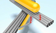 Nano-hinge – lubricated by light