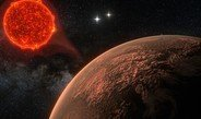 Earth-like planet near Proxima Centauri