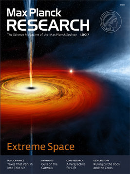 MaxPlanckResearch 1/2017: Extreme Space