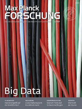 MaxPlanckForschung 1/2017: Big Data