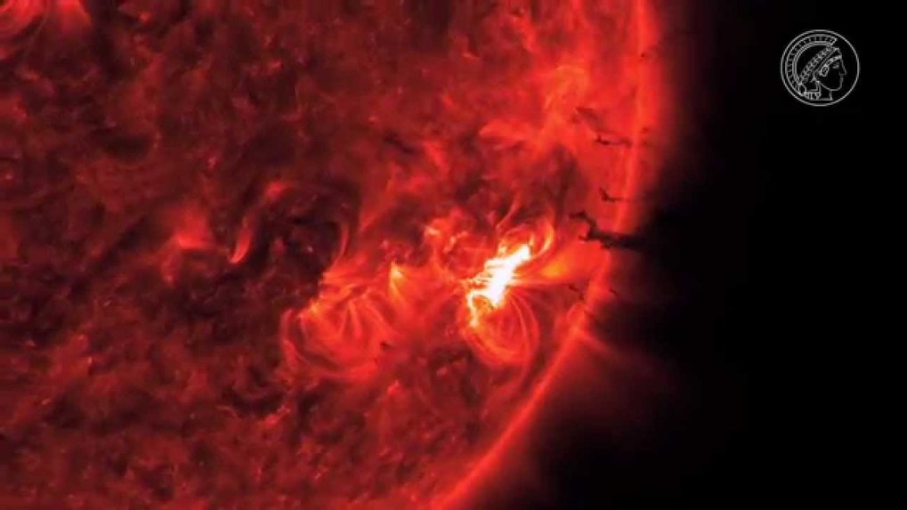 Solar flares don't just create beautiful polar lights, but can also damage satellites and disrupt power grids. Astrophysicist Sami Solanki attached a telescope to a giant helium balloon to research into the activity of the Sun.