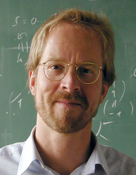 Prof. Walter Metzner, a Director at the Max Planck Institute for Solid State Research, one of the four Europhysics Prize winners honoured on March 29,