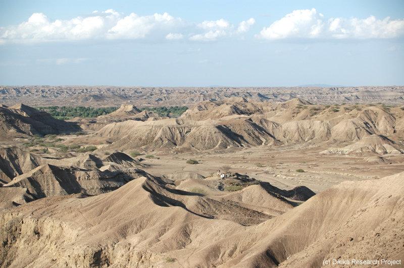 Die Dikika-Knochen wurden in der Andedo Drainage, einem natürlichen Ablaufkanal, gefunden