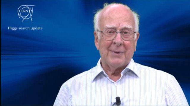 """Er sagte die Existenz """"seines"""" Teilchens bereits 1964 voraus: der britische Physiker Peter Higgs."""