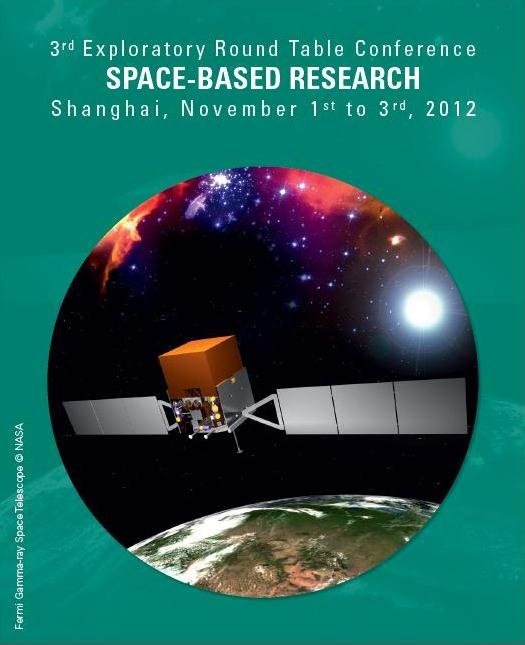 3rd ERTC on Space-Based Research, 2012