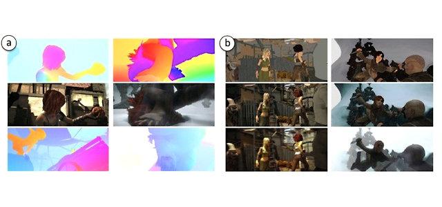 <strong>Abb. 1:</strong> Beispielbilder aus dem Film Sintel. Hierbei handelt es sich um einen Open-Source-Film, siehe www.sintel.org. Durch Verwendung