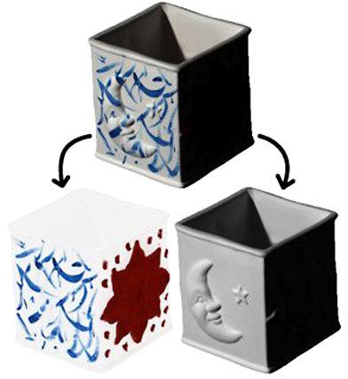 <strong>Abb. 3:</strong> Zerlegung in intrinsische Komponenten. Die Aufgabe besteht darin, ein Bild (oben) in verschiedene Faktoren aufzuteilen. Hier