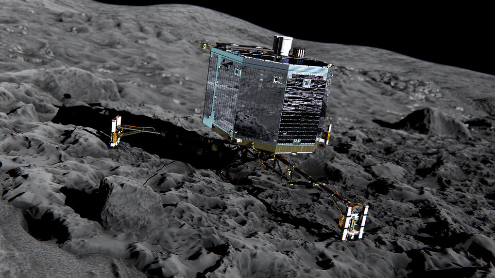 Expedition to primeval matter - Rosetta Mission