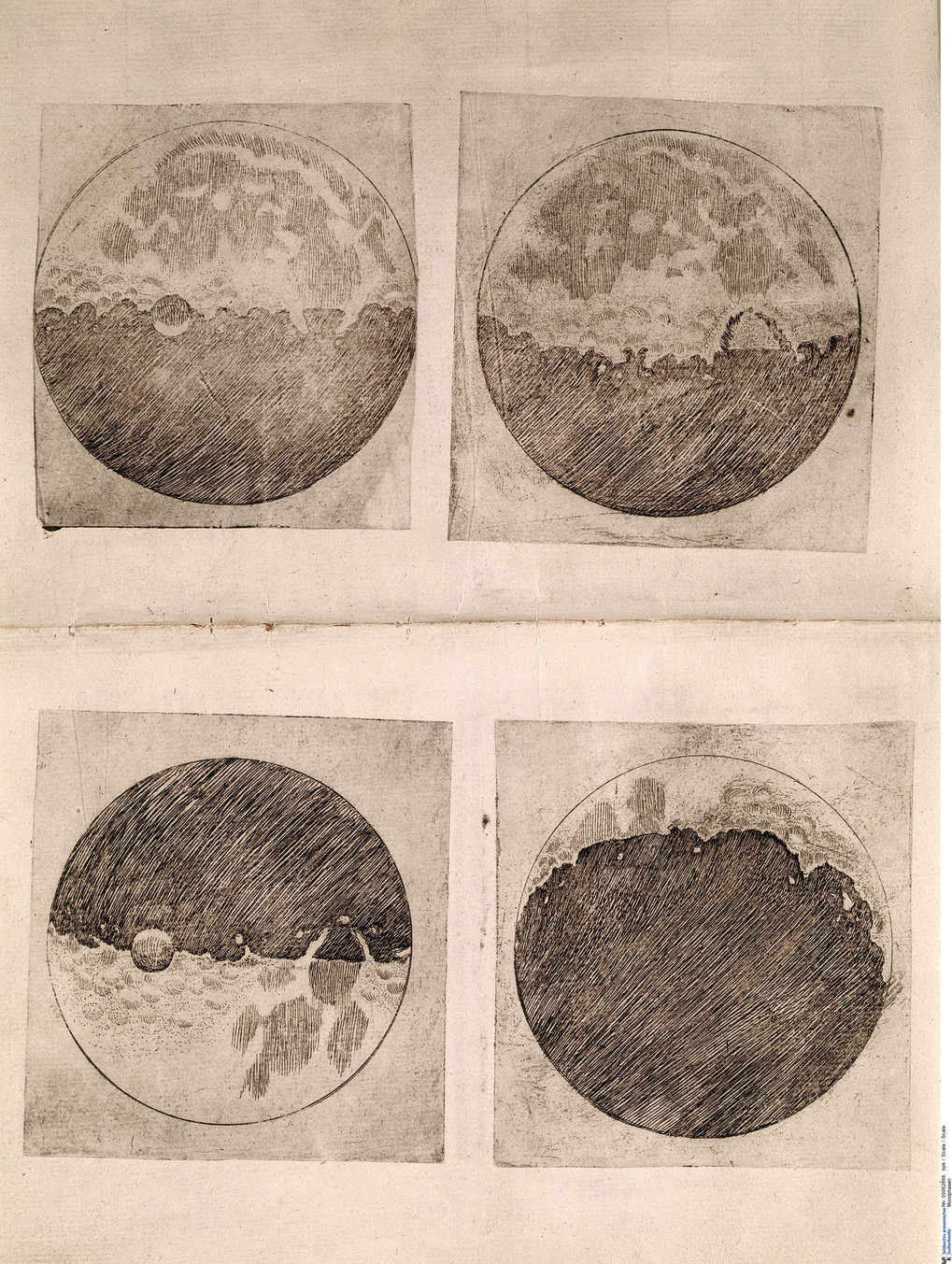 The renaissance man from pisa max planck gesellschaft an eye on the earths satellite galileos work sidereus nuncius 1610 also includes many drawings of the moon in different phases gumiabroncs Images