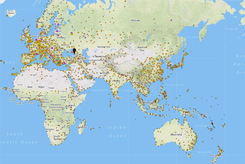 Infektionskrankheiten verbreiten sich schnell über Knotenpunkte wie internationale Flughäfen: Am Max-Planck-Institut für Informatik wird das Risiko au