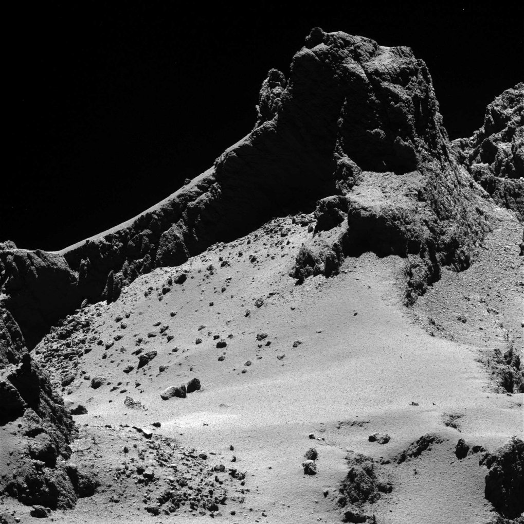 Rosetta's profile of a comet