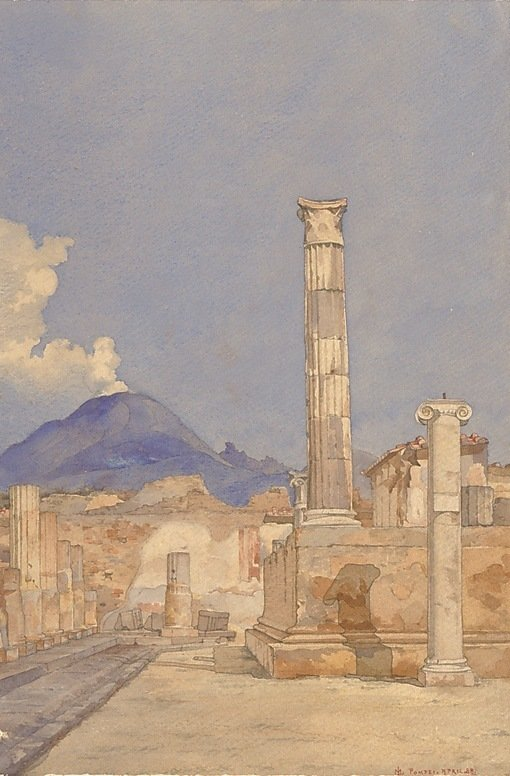 World heritage site: Pompeii through the ages