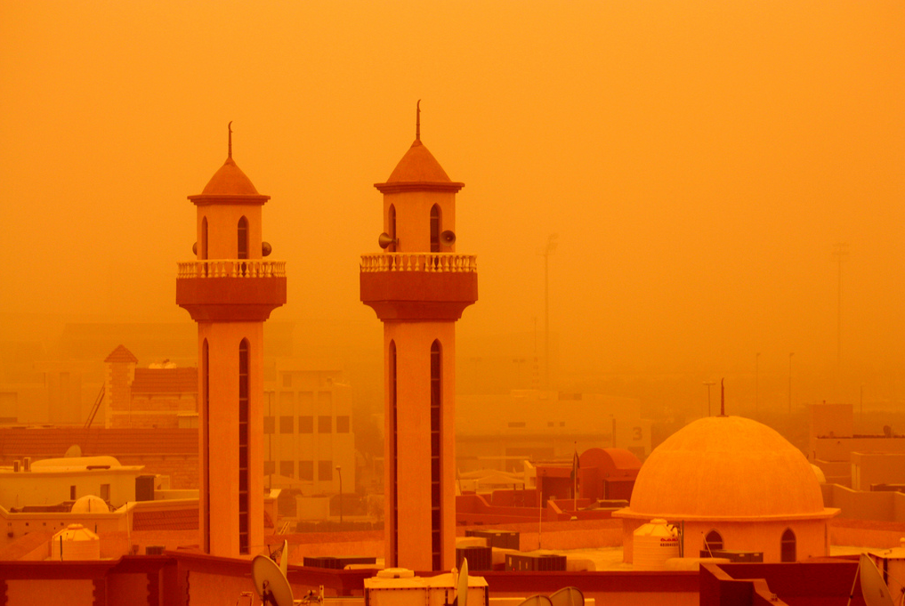 Part of the Middle East and North Africa may become uninhabitable due to climate change