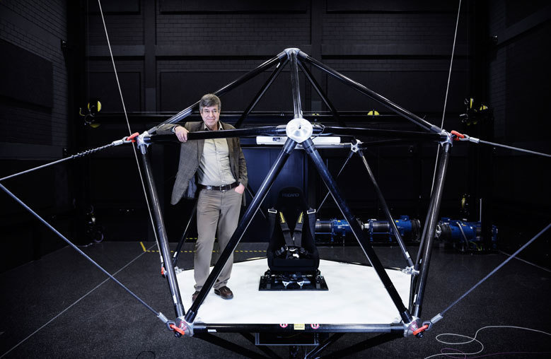 """The cable robot opens up a whole new dimension"""
