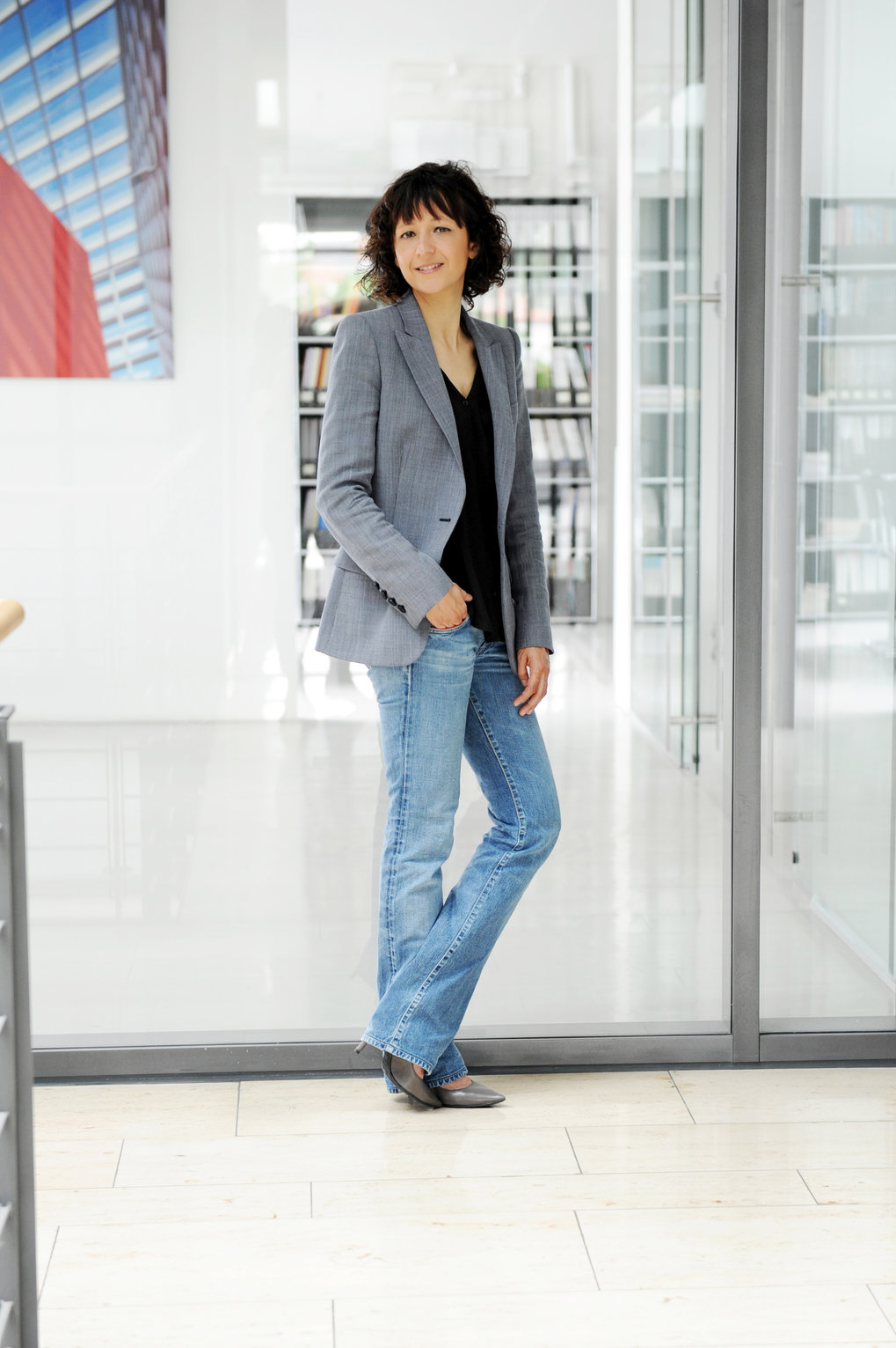 Finally here: Emmanuelle Charpentier moved to the Berlin-based Max Planck Institute for Infection Biology in October 2015. Her objective was to begin