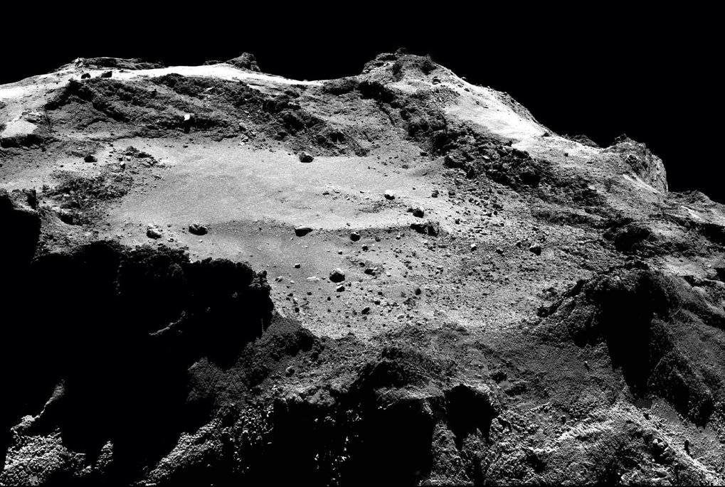 A comet turns into the Rosetta stone
