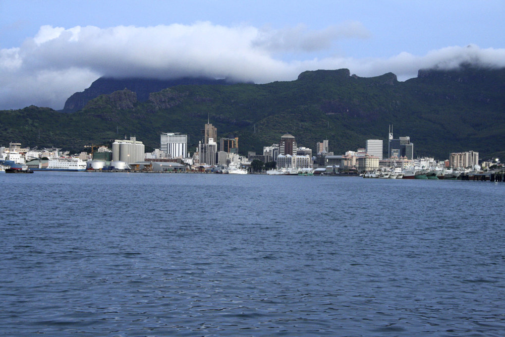 Abb. 2: Port Louis, Mauritius