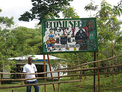 The Ecological Museum in Taï was opened in June 2014 and is part of the large ecotourism project in the Taï National Park in the Ivory Coast. The museum offers space for theater and film shows as well as exhibitions. It showcases the natural and cultural heritage of the region and also serves as an information centre for tourists.
