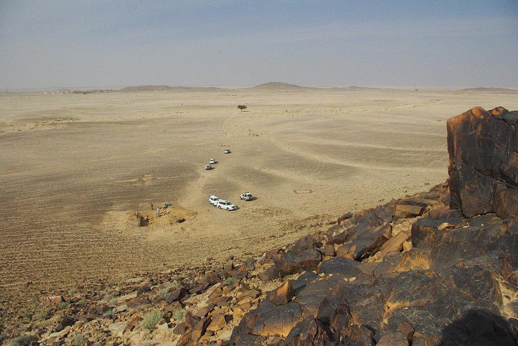 Während die Frühgeschichte in Europa schon seit Längerem intensiv erforscht wird, betreten die Max-Planck-Wissenschaftler in Saudi-Arabien Neuland. Mi
