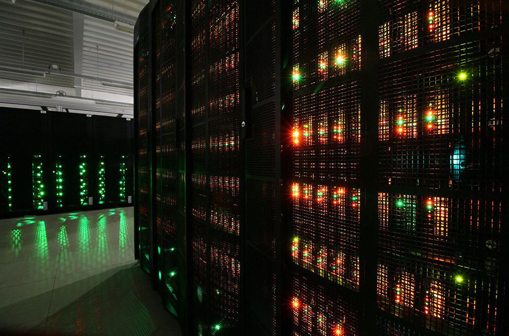 Supercomputer der Klimaforschung in Hamburg