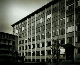 The first purpose-built buildings. The MPI of Biochemistry