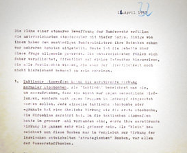 Scientists unite for peace. The Göttingen Manifesto against nuclear weapons