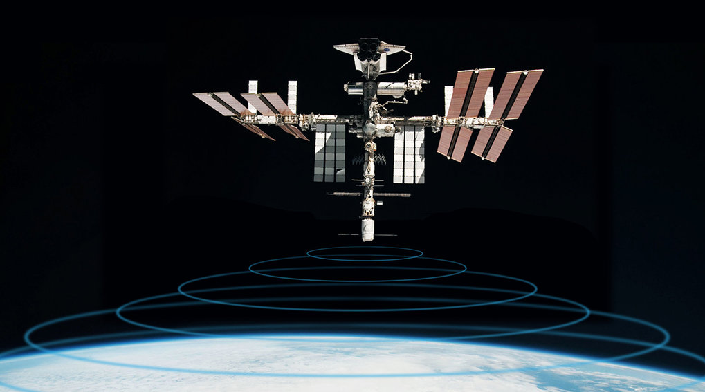Tiere beobachten aus dem All: Die Antenne des Icarus-Systems wurde erfolgreich zur ISS transportiert.