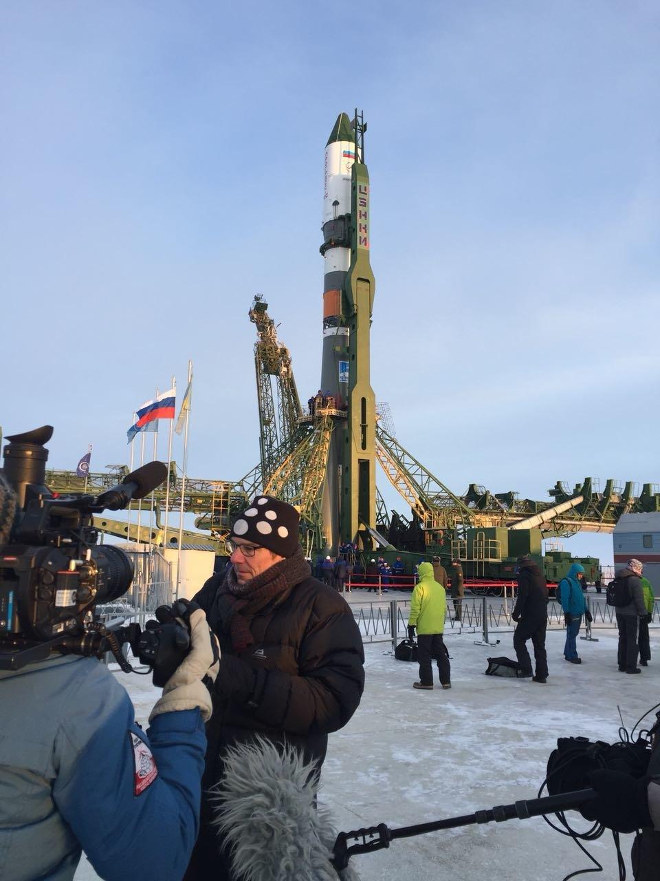 Im Interview: Martin Wikelski im Kosmodrom in Baikonur / Kasachstan