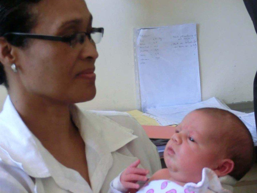 VPM1002 soll auch die Gefahr einer Tuberkulose-Infektion bei Säuglingen mit HIV-infizierten Müttern senken.