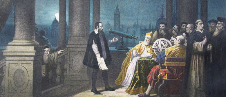 """Galileo personifies revolutionary historical change"""