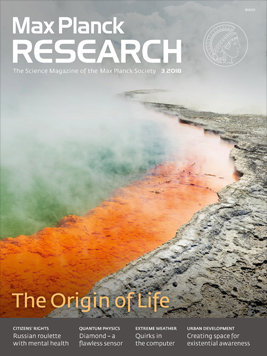 MaxPlanckResearch 3/2018: The Origin of Life