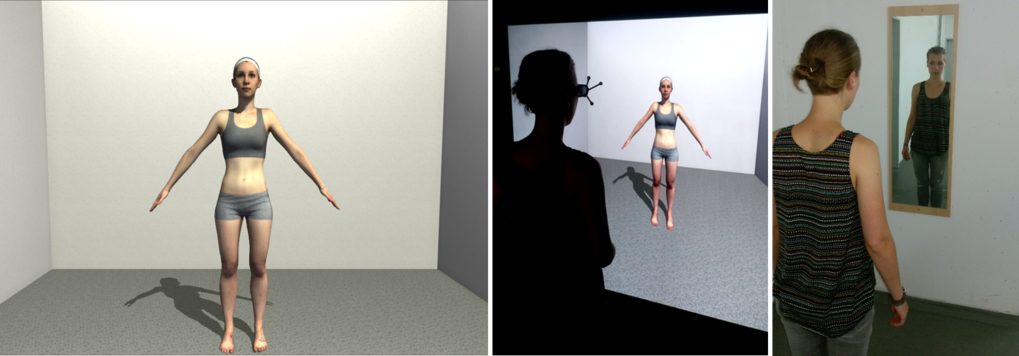 Body perception in virtual reality