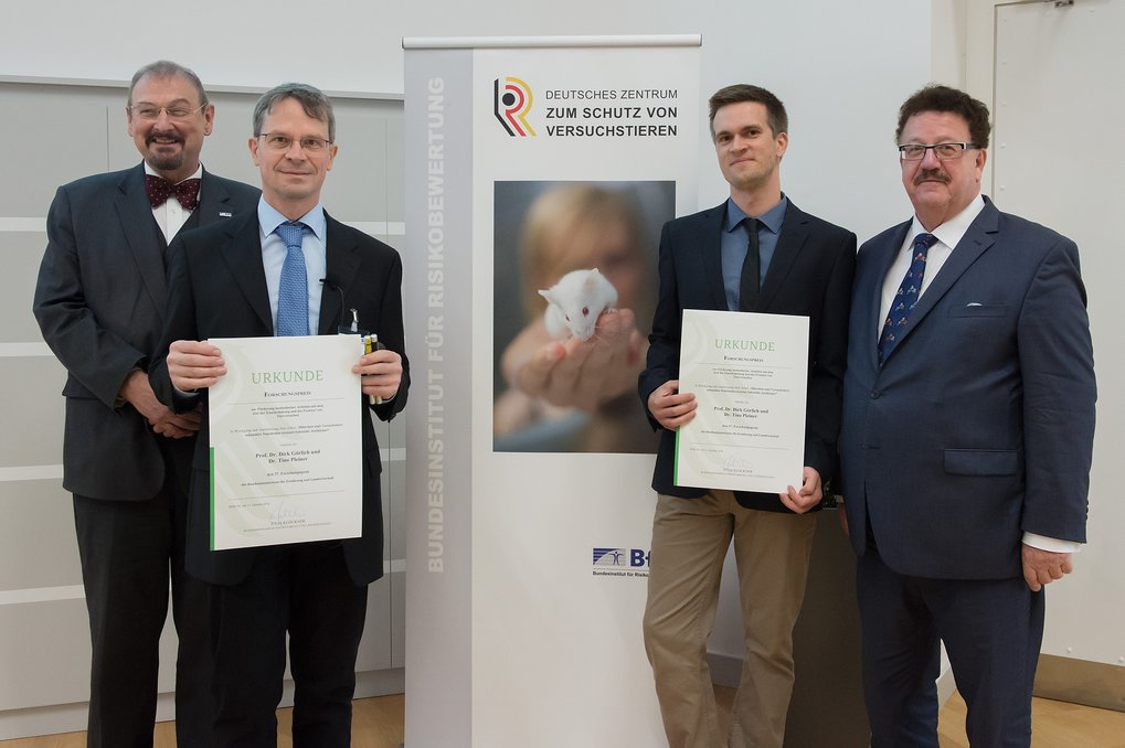Animal Welfare Prize for Max Planck researchers