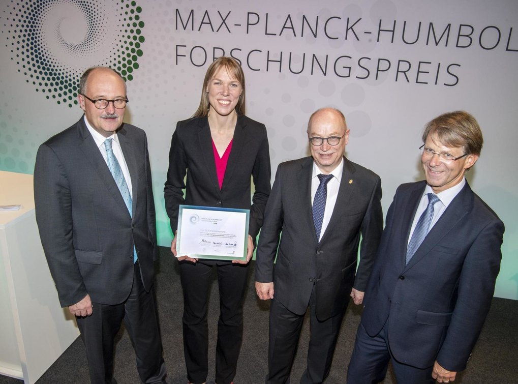 Max Planck-Humboldt Research Award for Catherine Heymans