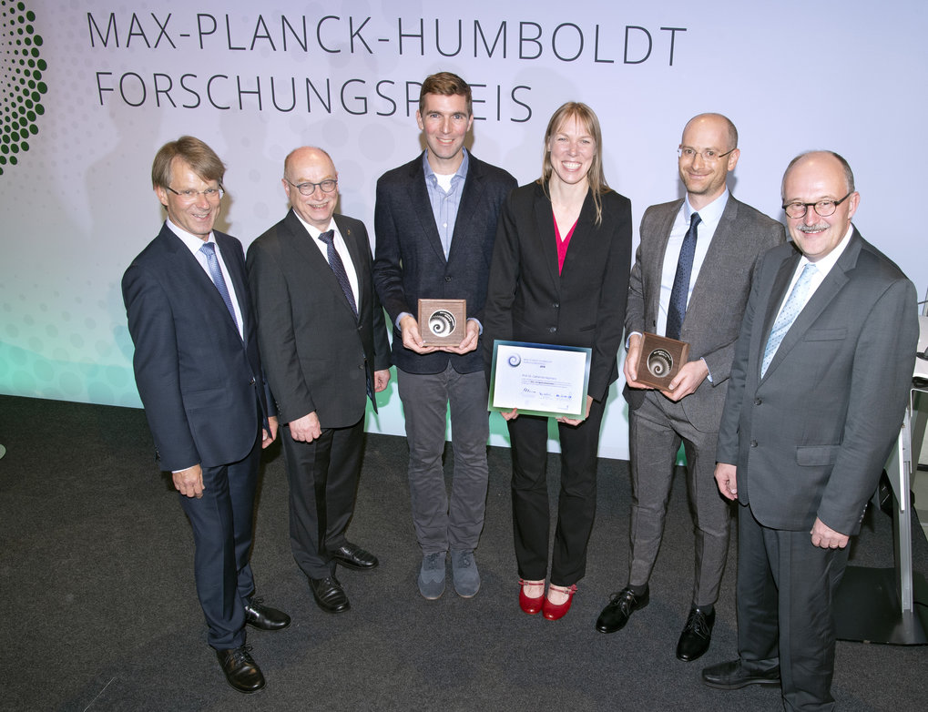 Max Planck-Humboldt Research Award 2018