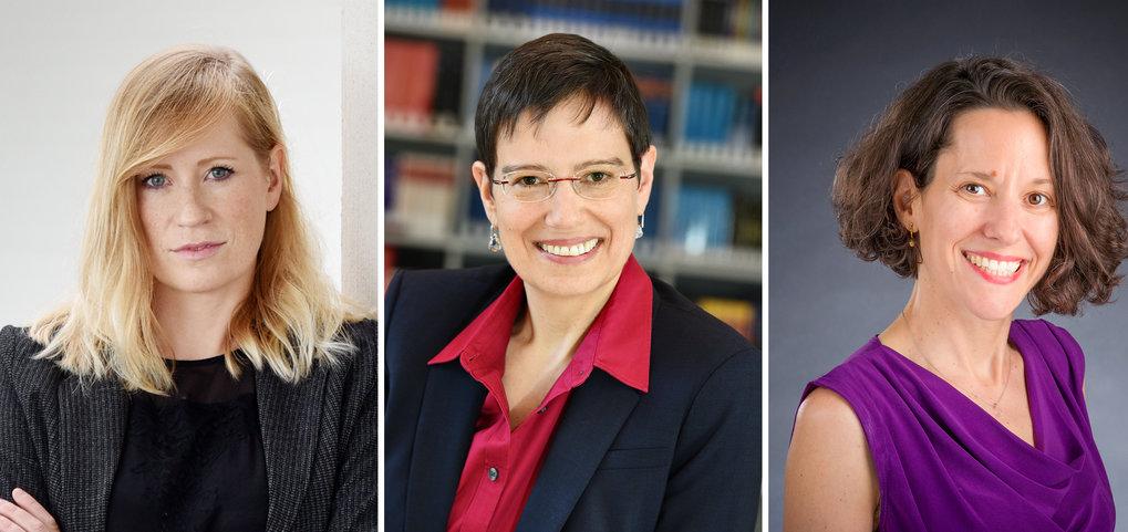 Melina Schuh, Brenda Schulman und Ayelet Shachar werden mit dem wichtigsten deutschen Forschungsförderpreis, dem Leibniz-Preis 2019, geehrt. Sie bekom
