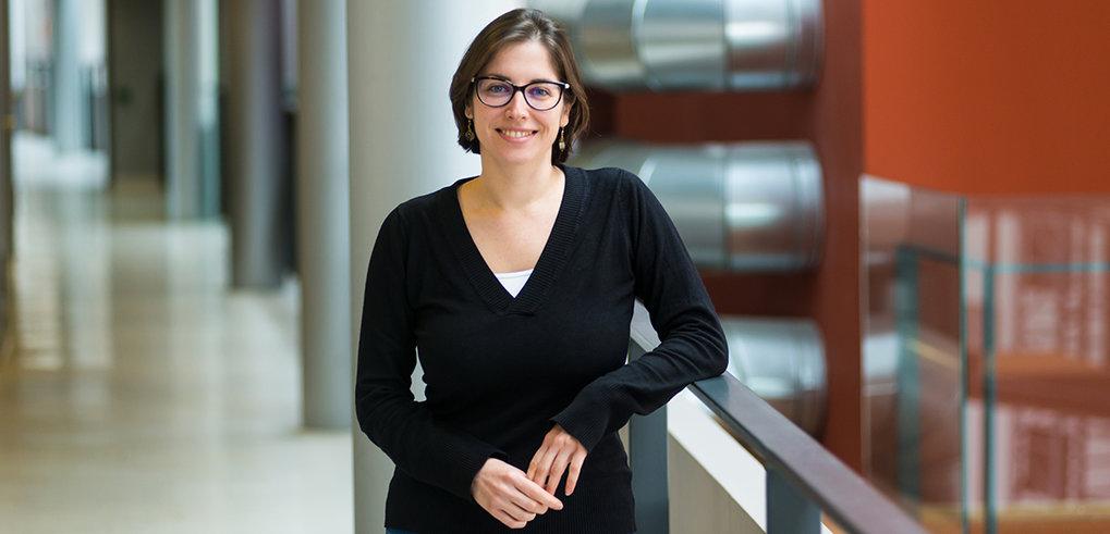 """Viviane Slon zählt laut dem """"Nature""""-Magazin zu den zehn Persönlichkeiten, die 2018 die Wissenschaft prägten. Die Französin, die am Leipziger Max-Plan"""