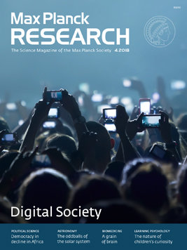 MaxPlanckResearch 4/2018 - Digital Society