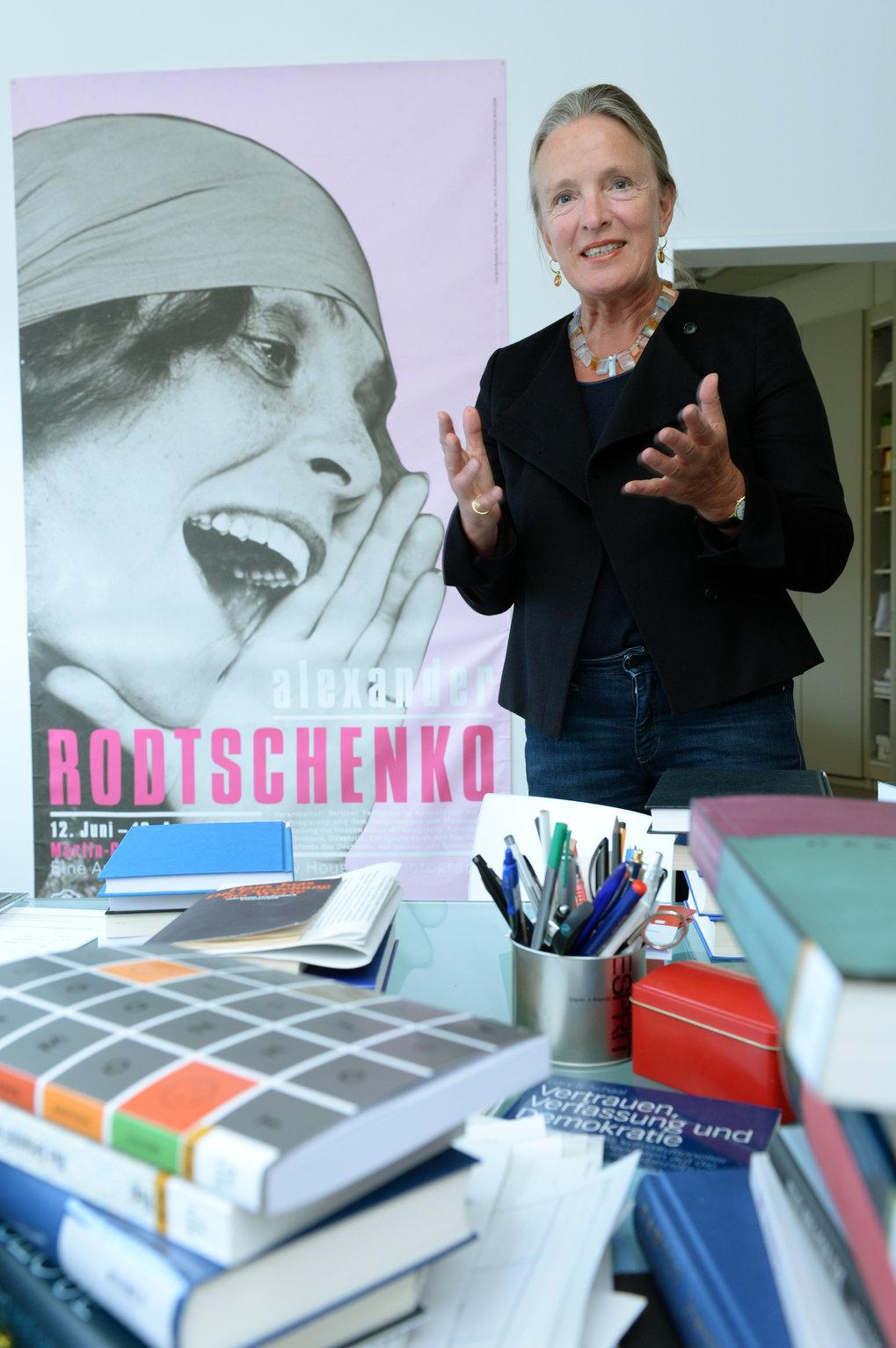 Die Historikerin Ute Frevert in ihrem Berliner Büro