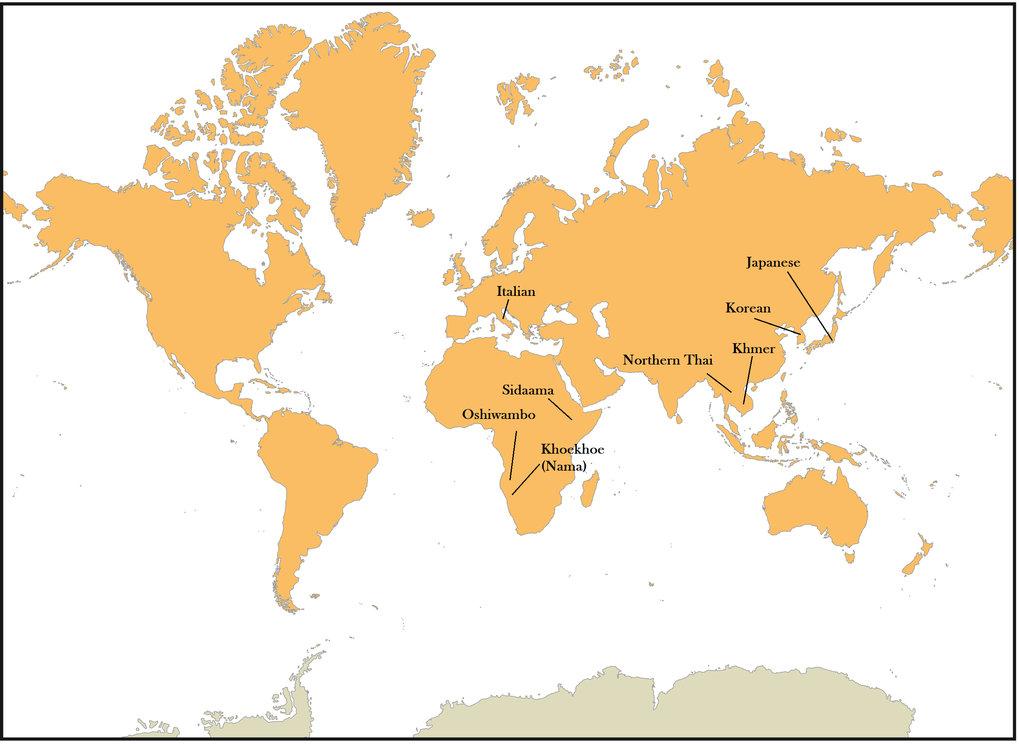 Das Forschungsteam führte Gedächtnistests in verschiedenen menschlichen Kulturen durch, die verschiedene Sprachen sprechen.