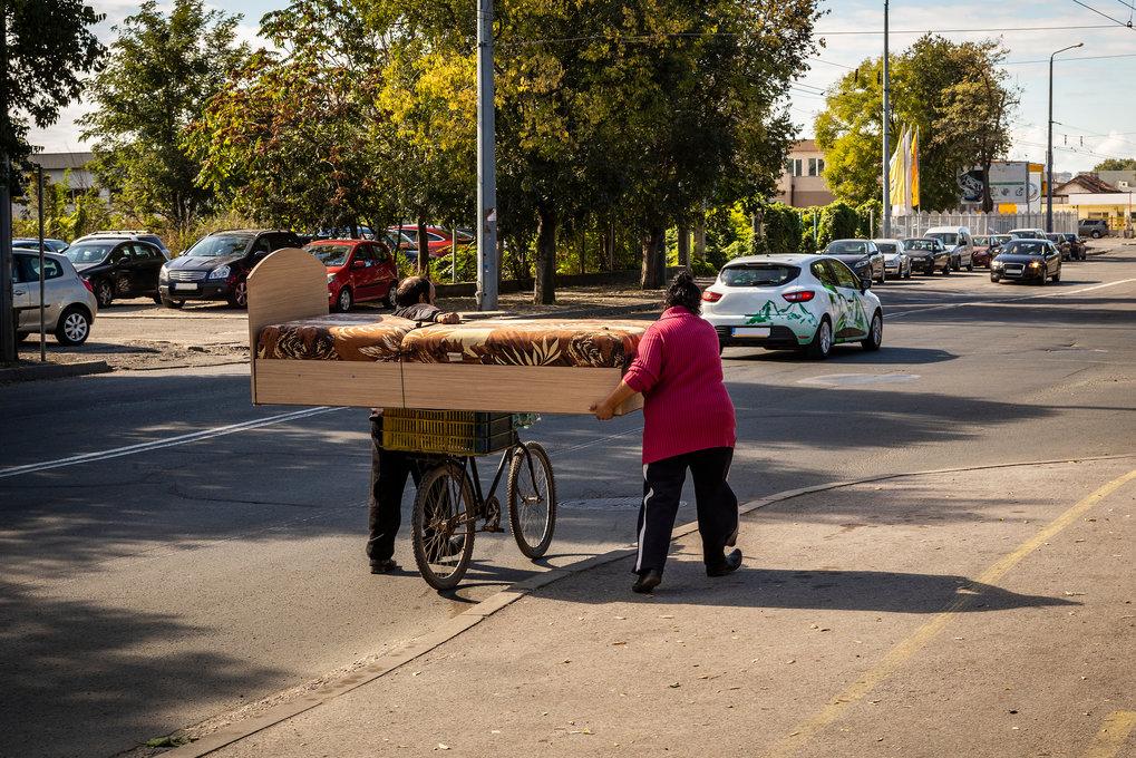 Zwei Welten: In Bulgarien, dem ärmsten Mitglied der EU, sind 20 Prozent der Menschen so arm, dass sie nicht einmal grundlegende Bedürfnisse stillen kö
