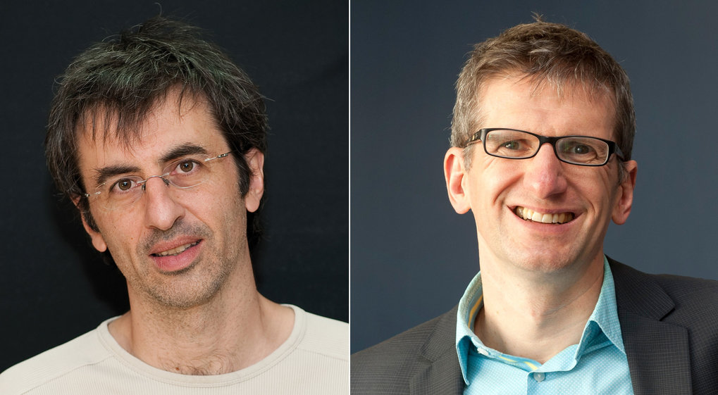 Two elite researchers for IT security and data protection