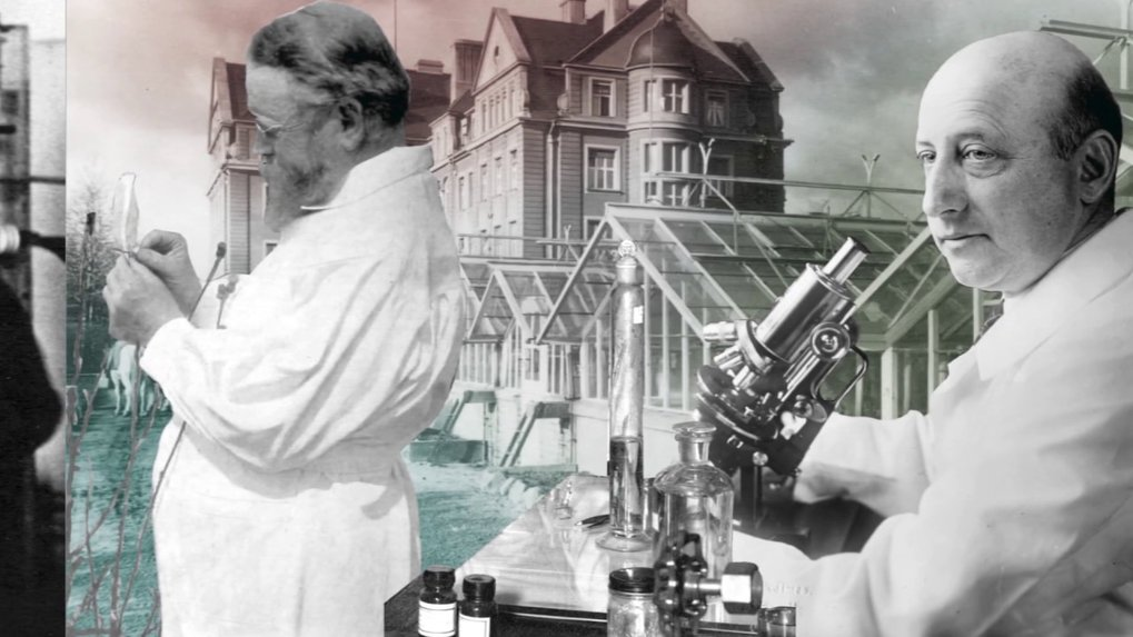 A historical journey. Discover 100 years of German history mirrored in the history of science on the Dahlem campus.