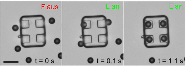 A new approach to floating micromachine self-assembly