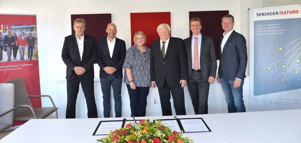 Projekt Deal and Springer Nature reach understanding on world's largest transformative open access agreement