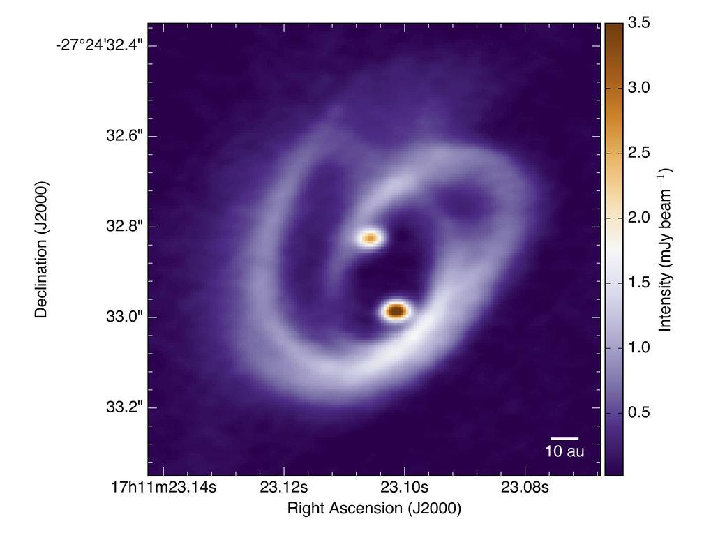Kosmische Geburtsstätte: Dieses Bild zeigt Barnard 59, Teil einer riesigen dunklen Wolke aus interstellarem Staub, genannt Pfeifennebel. Das untersuch