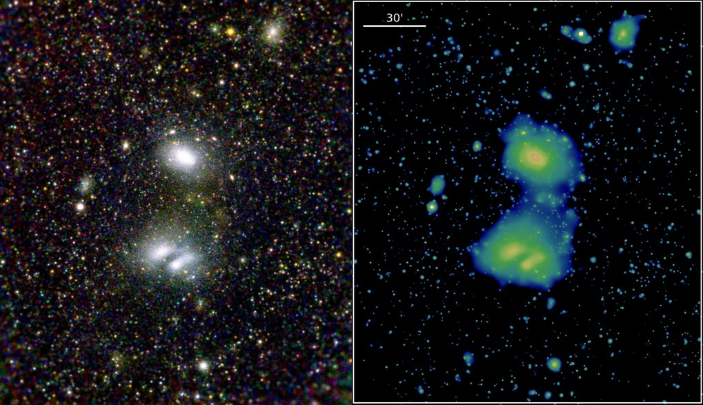 Det Europæisk-Russiske eRosita røntgen rumteleskopets første billeder
