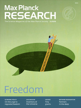 MaxPlanckResearch 3/2019 - Freedom