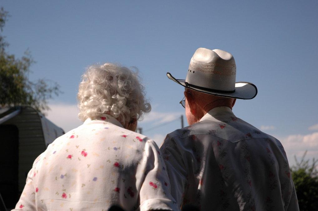 65 gemeinsame Jahre, wie diesem US-amerkanischem Ehepaar, sind nicht vielen vergönnt. Denn die Lebenserwartung in den USA stagniert. Anders als in vie