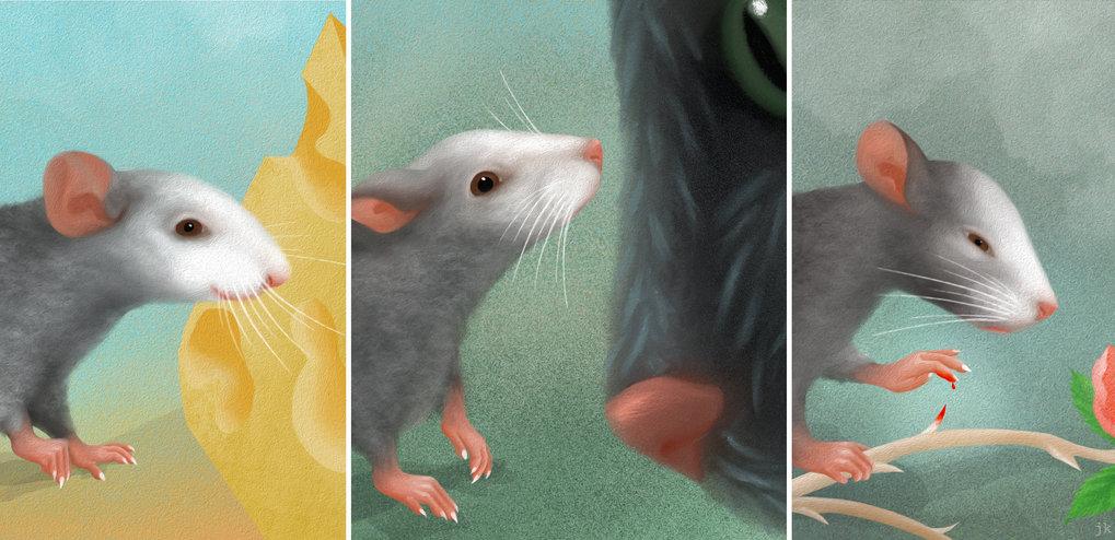 Der Gesichtsausdruck einer Maus. Darauf aufbauend wollen Forscher nun die neuronalen Grundlagen der Emotionen untersuchen.